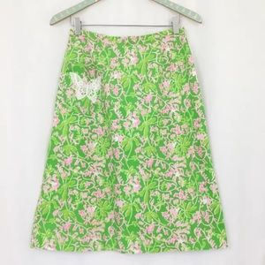 Vintage Key West Fashions Skirt Lilly Pulitzer S/M